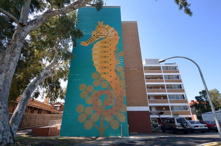 Fremantle, Western Australia 2014. 'Hippocampus subelongatus' Commissioned by FORM / 100 Hampton Road